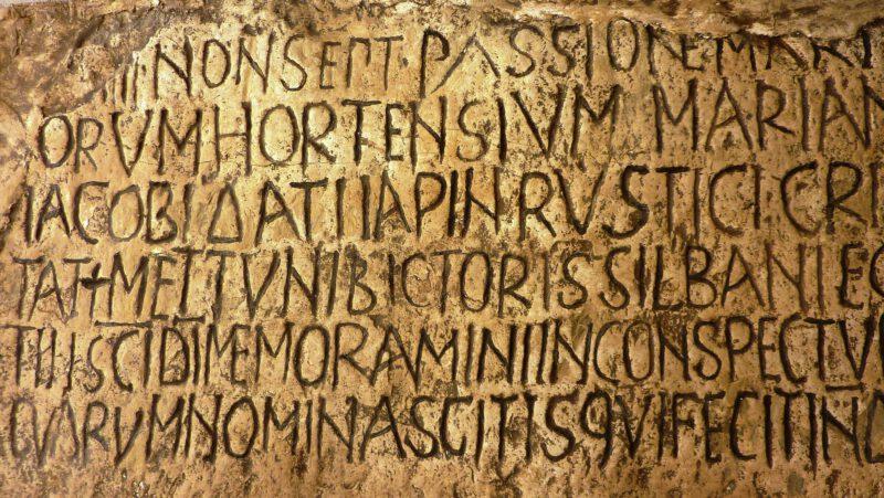 Geschichte des Schreibens: Antike – Das vollständige Alphabet