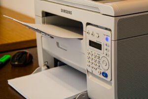 Scanner, Drucker und Kopierer können ein Werk nach seiner ersten Veröffentlichung weiter vervielfältigen