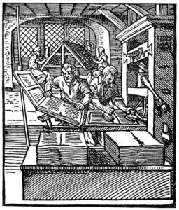 Buchdruck im 16. Jahrhundert