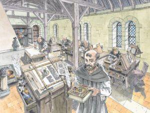 Mittelalterliches Skriptorium