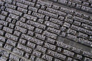 Geschichte des Schreibens: Neuzeit – Der Buchdruck