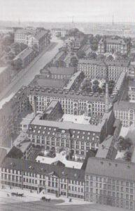 Das Firmengelände von F. A. Brockhaus um 1900